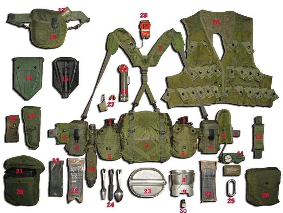 Operation Desert Storm 1991 Individual Equipment - CRAIG PICKRALL ...