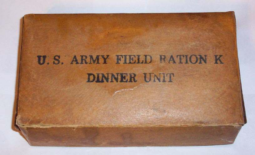 Wwii K Ration Supper Dinner Boxes Craig Pickrall Field Personal Gear Section U S Militaria Forum