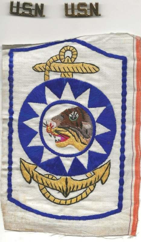US SACO Sino American Cooperative Organization Naval Group patch #2
